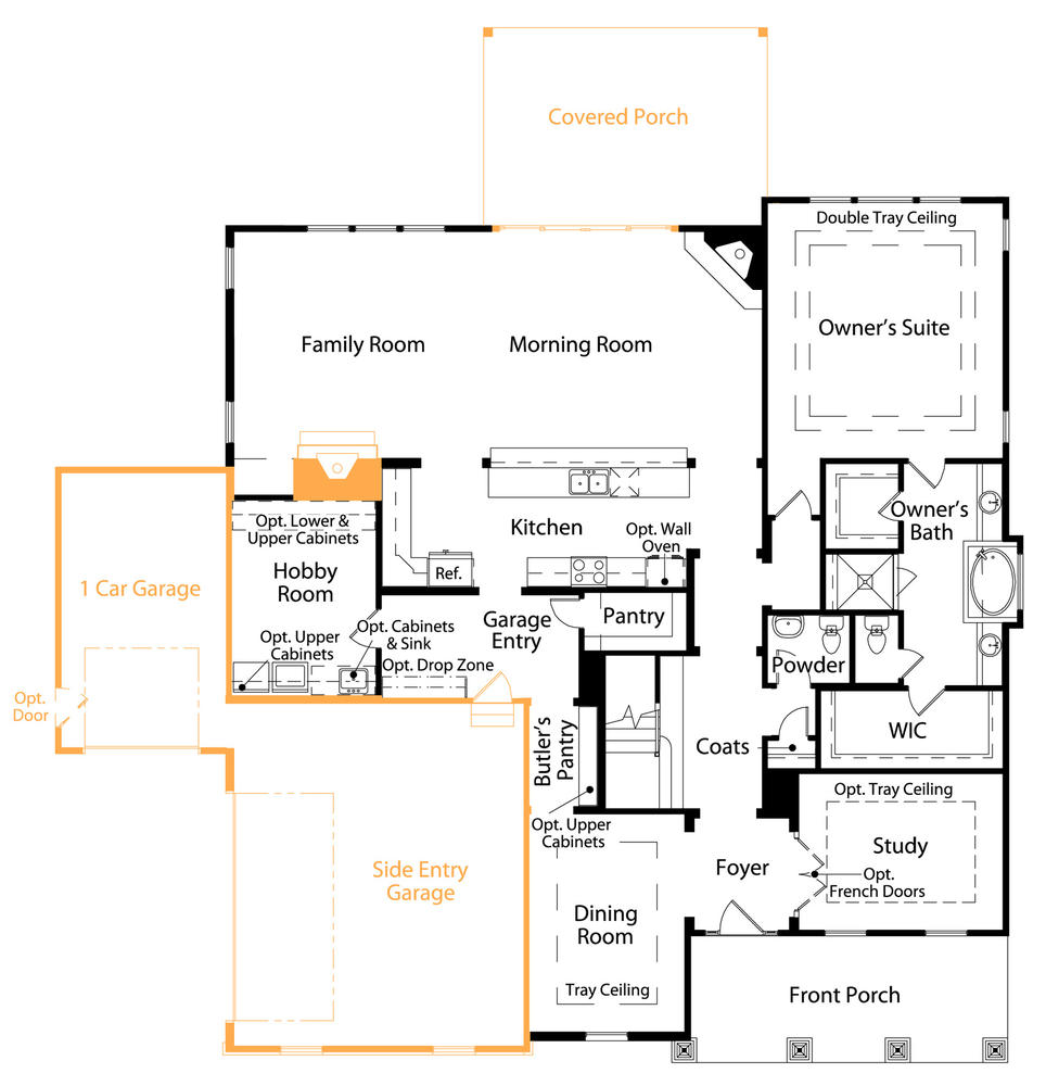 The Alpine Plan At The Enclave At Massey Virtual Tour
