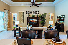 Photo: Living/Dining Room
