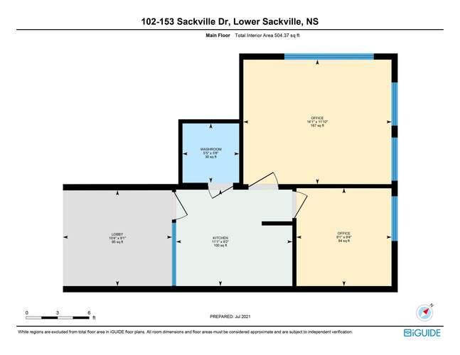 Lower Sackville in NS