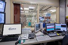 Photo: Catheterization Lab Monitoring Room