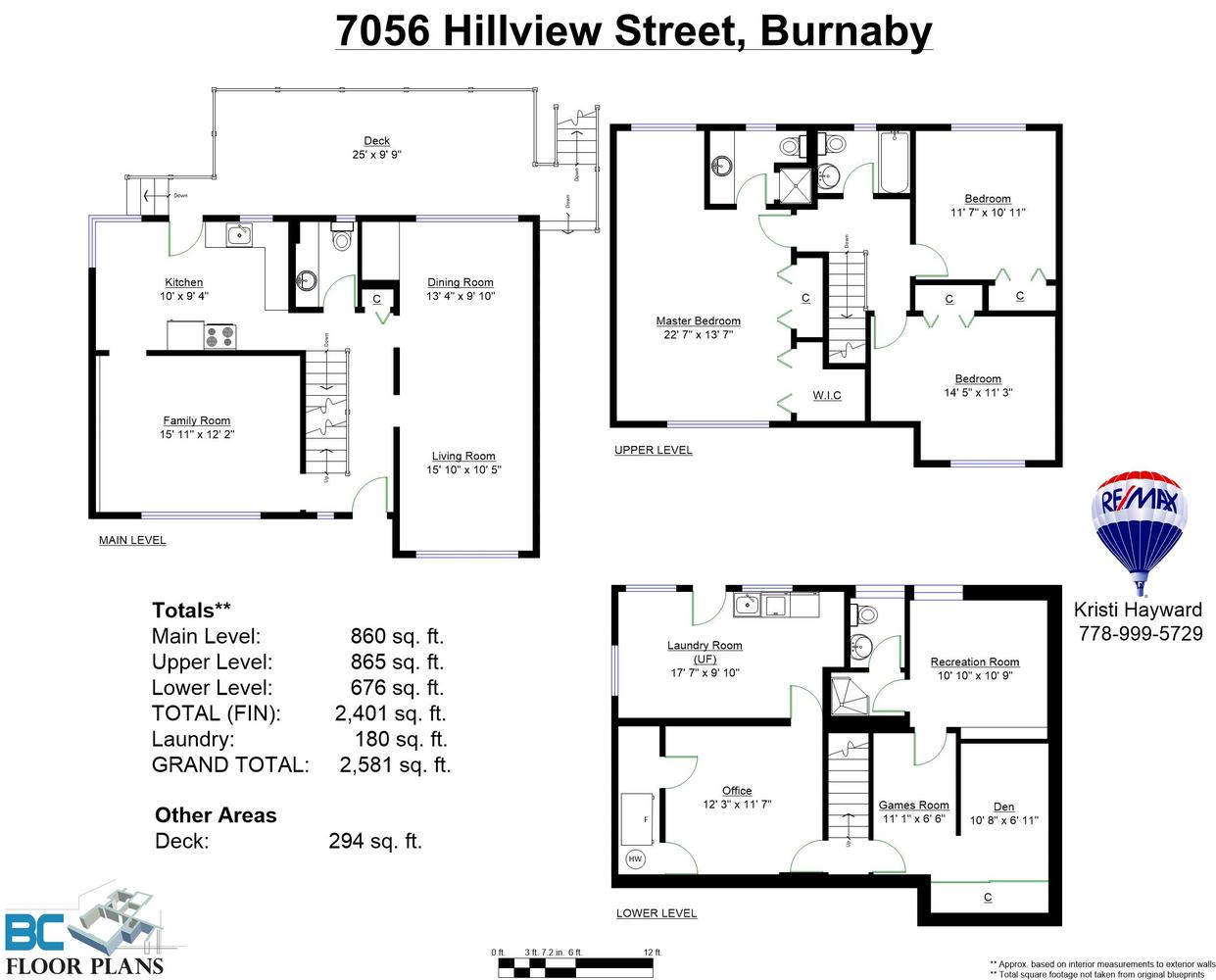 7056 Hillview St Burnaby Bc V5a 1y3 Canada Virtual Tour